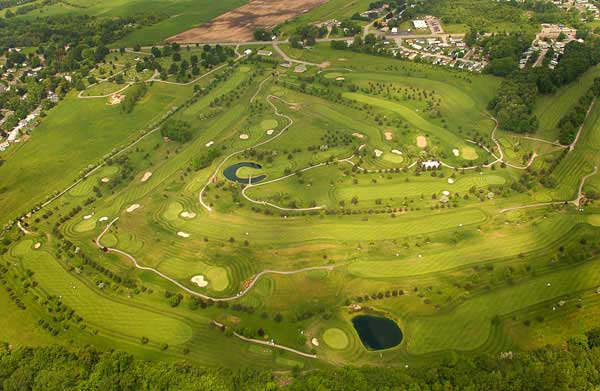 buffalo golf course aerial