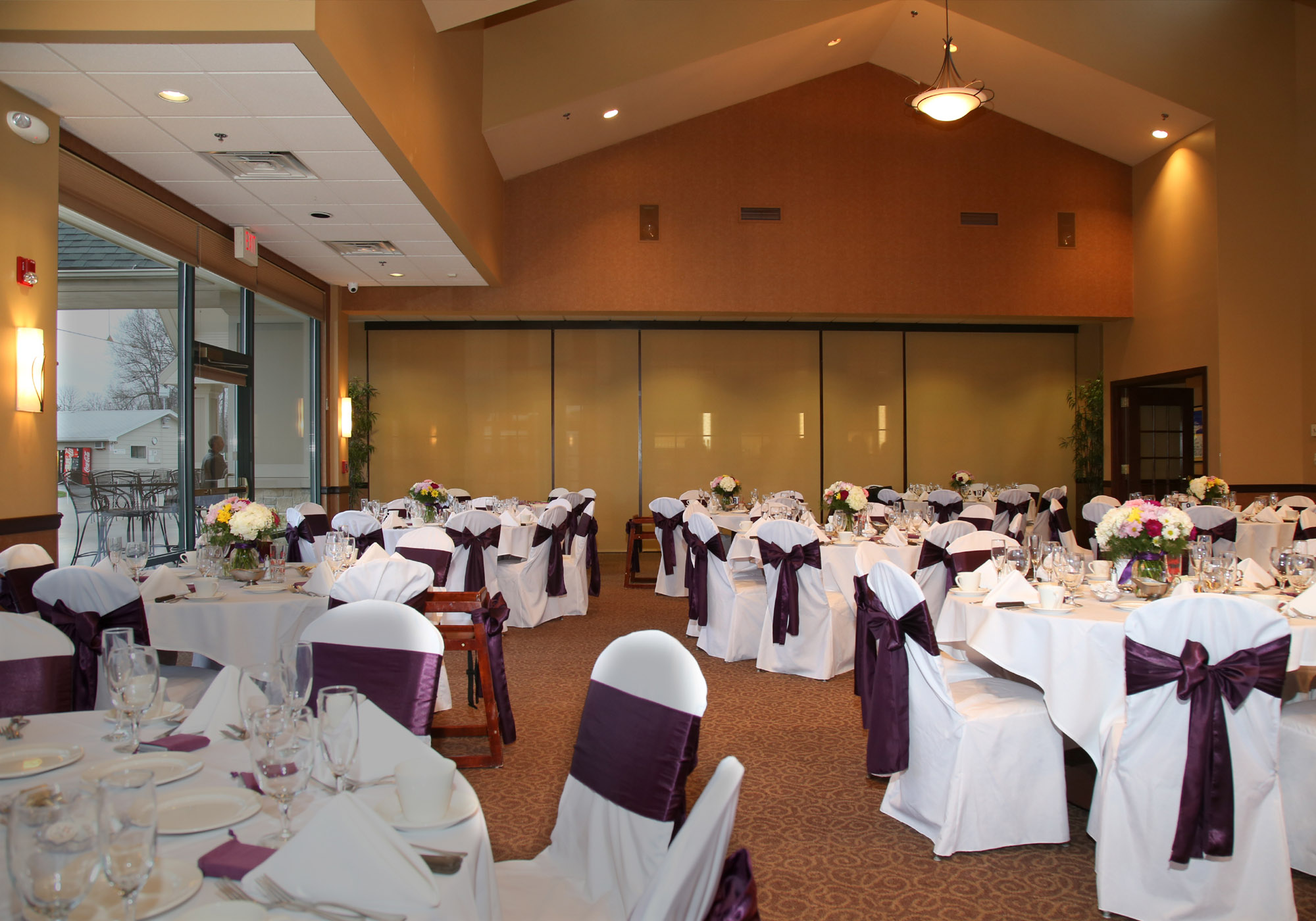 wedding banquet room batavia
